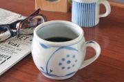 和食器・砥部焼 太陽柄の丸ミクルカップ