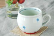 和食器・砥部焼 たんぽぽの丸ミルクカップ
