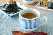 和食器・砥部焼 とくさ柄の丸ミルクカップ