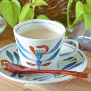 和食器・砥部焼 あか花のコーヒーカップ
