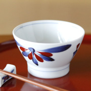 和食器・砥部焼 梅山窯の茶碗(大)