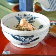 和食器・砥部焼 ごす花の玉口鉢(5寸)