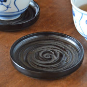 【香川漆器 象谷塗】うずまきコースター