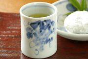 【砥部焼 森陶房】ぶどうの筒湯のみ(大)