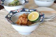 和食器・砥部焼 かざぐるまの八角鉢