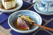 和食器・砥部焼 はけめ模様の小皿(4寸)