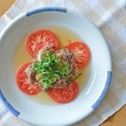 和食器・砥部焼 中花の玉ぶち皿(8寸)