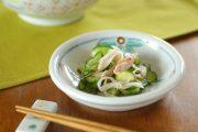【砥部焼 陶房遊】花ちらしの玉ぶち皿(4寸)