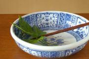 【砥部焼 陽貴窯】ふよう柄の大鉢
