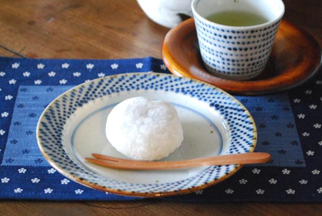 和食器・砥部焼 ドット模様の取皿(5寸)