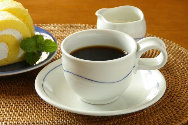【砥部焼 向井窯】白いコーヒーカップ