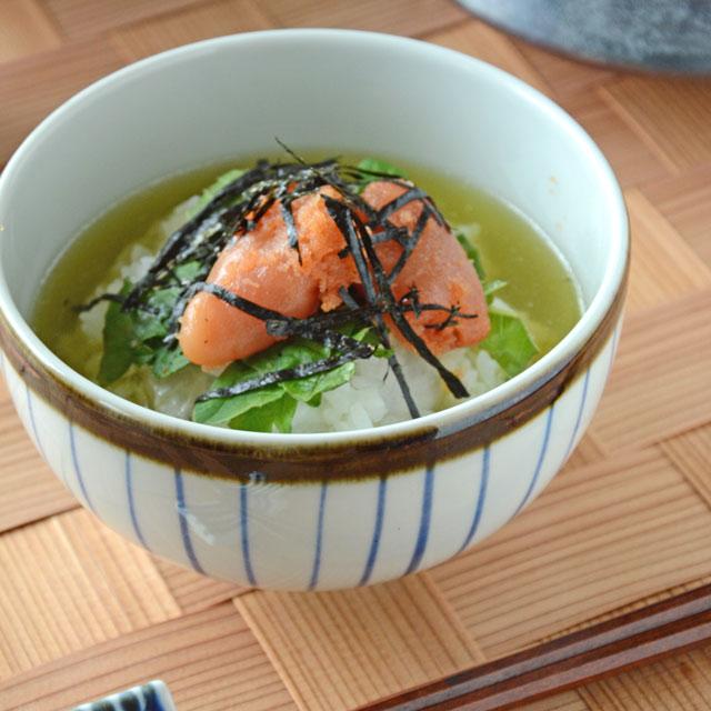 和食器・砥部焼 鉄巻とくさの丸碗