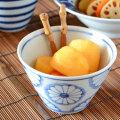和食器・砥部焼 菊文の小鉢(大)