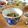 和食器・砥部焼 染付花の小鉢(小)