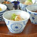 和食器・砥部焼 菊文の小鉢(小)