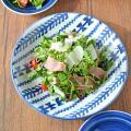 和食器・砥部焼 梅山窯の大皿
