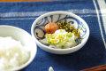 【砥部焼 梅山窯】みつからくさの小皿(3.5寸)