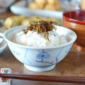 和食器・砥部焼 なずなの反茶碗(3.6寸)