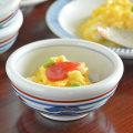 和食器・砥部焼 みつ葉の玉ぶち鉢(3寸)