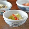 和食器・砥部焼 なずなの玉ぶち鉢(3寸)