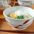 和食器・砥部焼 赤笹の丼鉢(5.2寸)