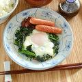 和食器・砥部焼 なずなの切立丸皿(6寸)