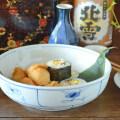 和食器・砥部焼 なずなの平鉢(7寸)
