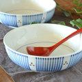 和食器・砥部焼 とくさみつ紋の平鉢(7寸)