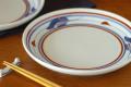 和食器・砥部焼 みつ葉の大皿