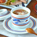 和食器・砥部焼 みつ葉の茶碗蒸し