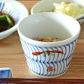 和食器・砥部焼 色絵笹のそばちょこ