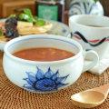和食器・砥部焼 ひまわりのスープカップ