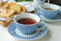 和食器・砥部焼 とくさ柄のティーカップ