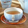和食器・砥部焼 とくさみつ紋の手引丸湯呑