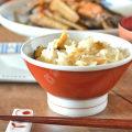 和食器・砥部焼 赤巻の茶碗