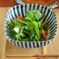 和食器・砥部焼 とくさの角ボール(6寸)