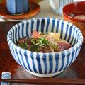和食器・砥部焼 とくさの玉口鉢(5寸)