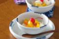 和食器・砥部焼 白いギザギザ小鉢(4寸)
