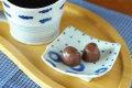 和食器・砥部焼 はりあわせ角豆皿