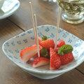 和食器・砥部焼 まるしかく取皿(四角)