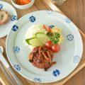 和食器・砥部焼 スギウラ工房のリム皿(大)