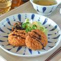 和食器・砥部焼 あまつぶの丸皿(7寸)