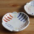 和食器・砥部焼 彩り紋の花皿(5寸)