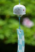 和食器・砥部焼 彩り紋の風鈴(小)