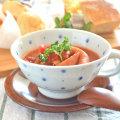 和食器・砥部焼 ブループラネットのスープカップ