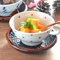 和食器・砥部焼 レッドプラネットのスープカップ