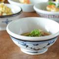 和食器・砥部焼 菊文の古砥部玉ぶち鉢(4寸)