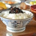和食器・砥部焼 なずな文の古砥部茶碗(大)