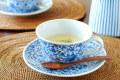 和食器・砥部焼 菊唐草のスープカップ