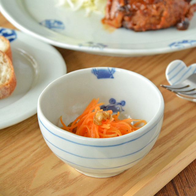 和食器・砥部焼 スギウラ工房 ボール鉢(ミニ)